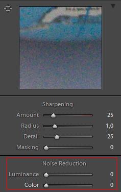 Adobe Lightroom - Zajszűrés 2.