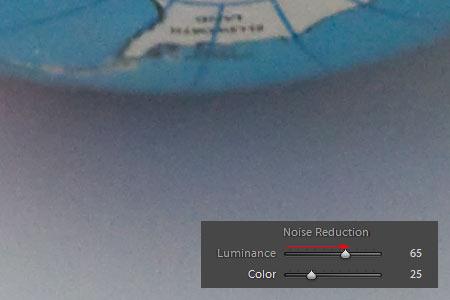 Adobe Lightroom - Zajszűrés 4.