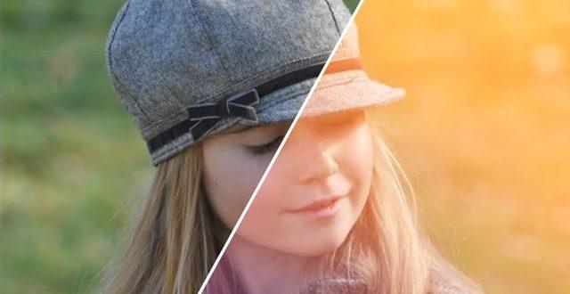 Hogyan készíts őszi ellenfényes hatást Photoshopban