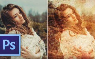Hogyan érhetsz el 'grunge' effektust az összhatásmódokkal Photoshopban