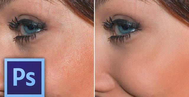 Hogyan lágyítsd az arcbőr pórusait Photoshopban