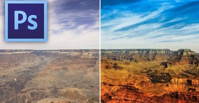 Hogyan lesz erőteljesebb, színesebb tájképed Photoshopban
