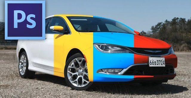 Hogyan változtasd meg egy autó színét Photoshopban