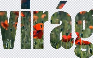 Photoshop Touch (Android) - Hogyan készíts fényképpel kitöltött feliratot