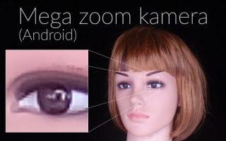 Mega zoom kamera (Android) szoftver bemutató (teszt)