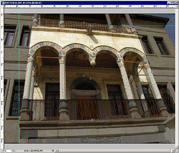 Perspektíva korrekció 3. Photoshopban 3d