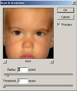 Arcbőr simítása Photoshopban 2