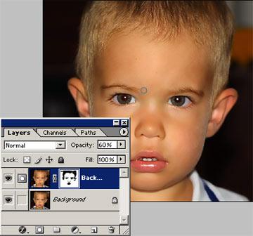 Arcbőr simítása Photoshopban 4