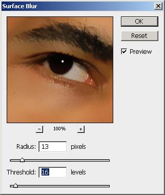 Arcbőr simítása III. Photoshopban 3