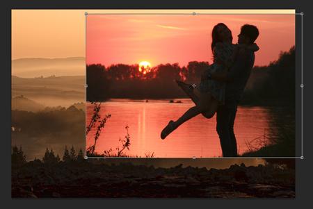 Fotók összemosása II. Photoshopban 4.