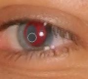 Vörös szem hatás eltávolítása I. Photoshopban 5