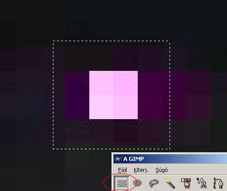 Hibás pixel eltávolítása GIMP képszerkesztőben 2.