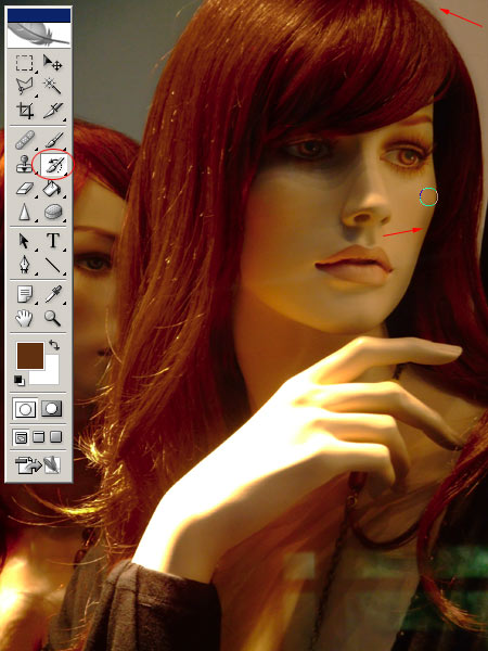 Hajfestés Photoshopban 5