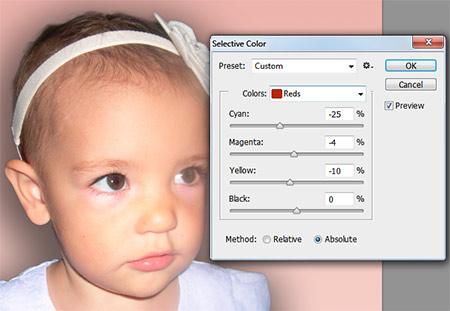 Photoshop munkamenet - Portré retusálás 10