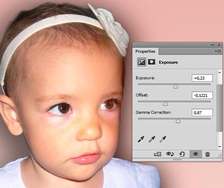 Photoshop munkamenet - Portré retusálás 13