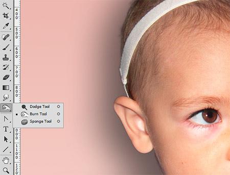 Photoshop munkamenet - Portré retusálás 15