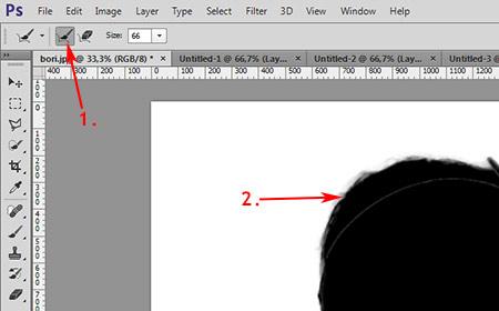 Photoshop munkamenet - Portré retusálás 5