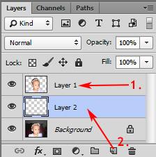 Photoshop munkamenet - Portré retusálás 6