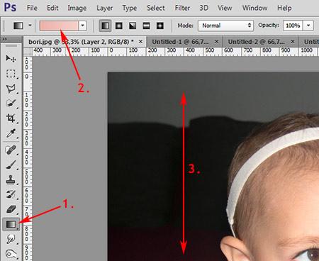 Photoshop munkamenet - Portré retusálás 7