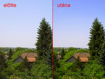 Polárszűrő hatás Photoshopban 7.