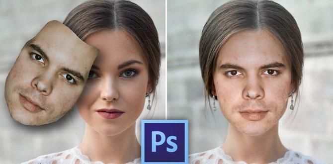 Profi arc-csere gyorsan Photoshopban