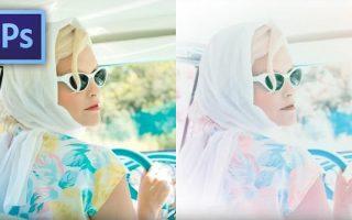 Hogyan készíts pasztel high-key effektust Photoshopban?