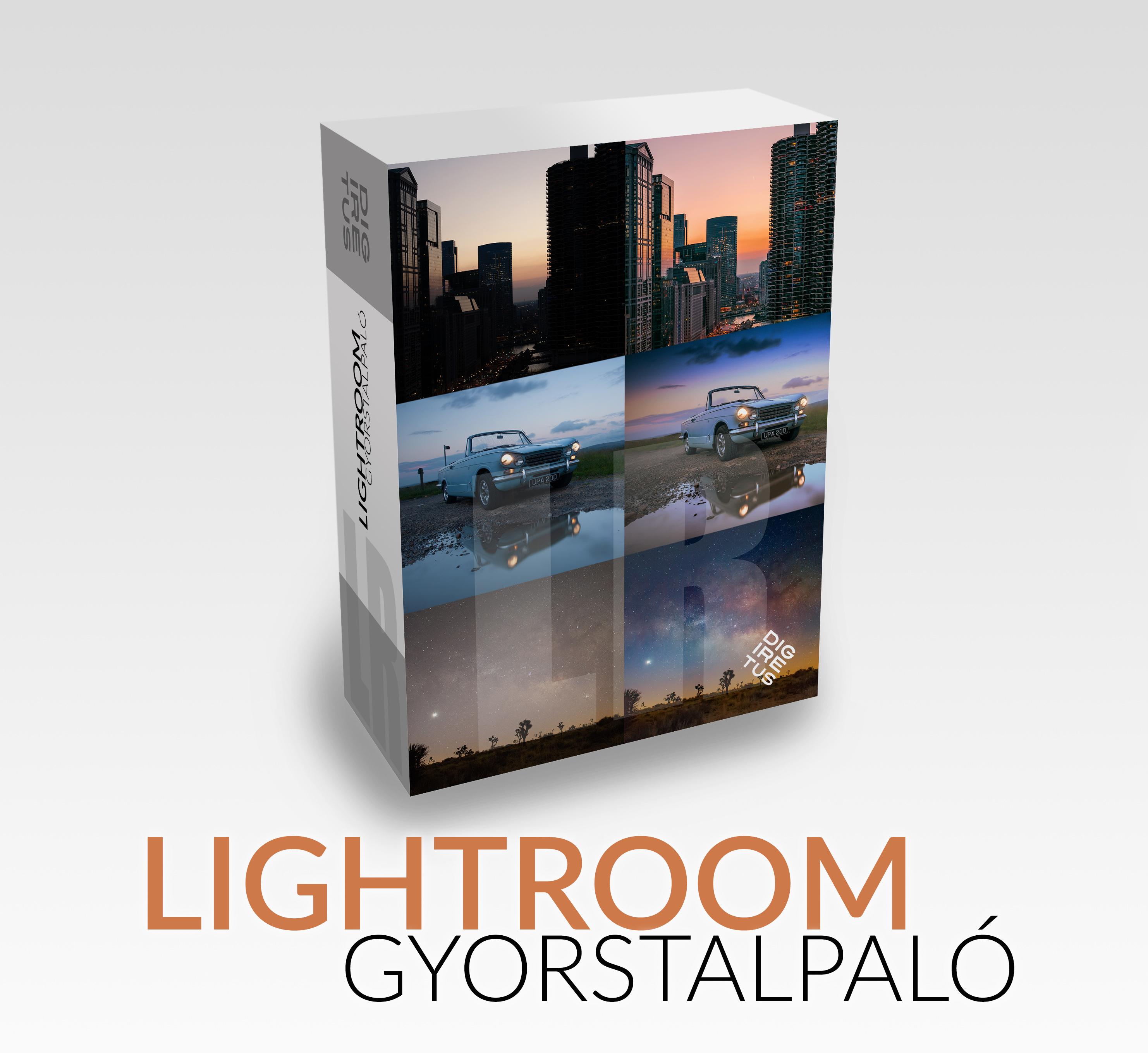 Lightroom Gyorstalpaló Prémium videók