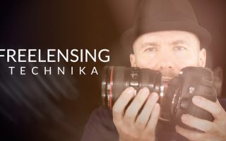 Freelensing technika