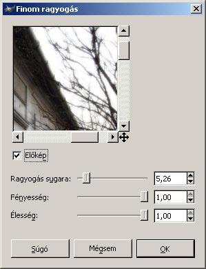 Olajfestmény GIMP képszerkesztőben 2.