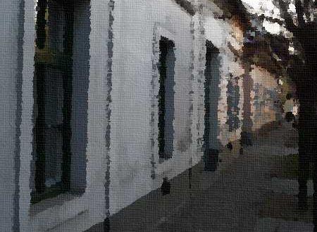 Olajfestmény GIMP képszerkesztőben