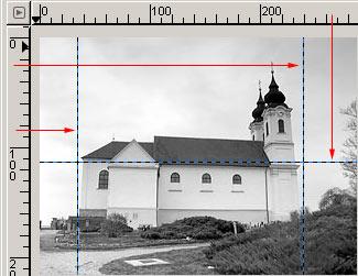 Perspektíva korrekció GIMP képszerkesztőben 2.