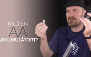 Milyen ceruza (AA) akkumulátort használjunk?
