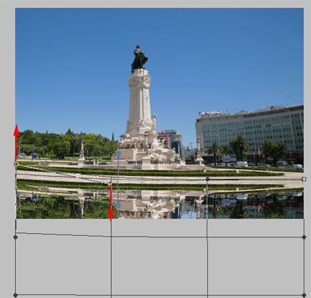 Víztükör hatás Photoshopban 4.