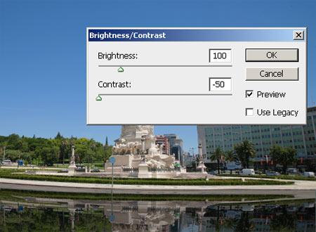 Víztükör hatás Photoshopban 5.