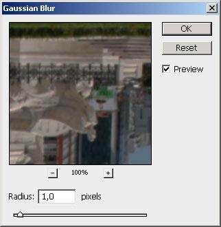 Víztükör hatás Photoshopban 6.