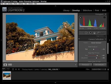 Adobe Lightroom - Színkalibráció 5.