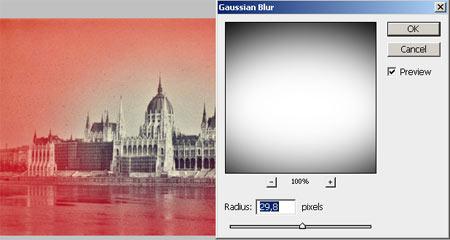Lyukkamera hatás Photoshopban 3.