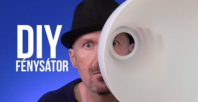 DIY fénysátor barkácsolás nélkül
