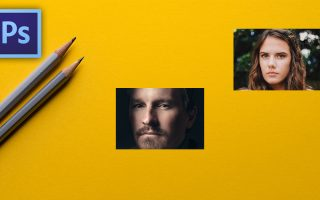 Photoshop CC 2019 újdonságai - Tablókép készítés Frame Toollal
