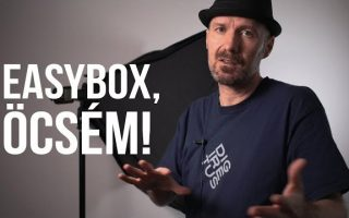 Godox 80x80 cm szoftbox kit teszt