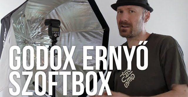 Teszt: Godox ernyő szoftbox (80 cm)
