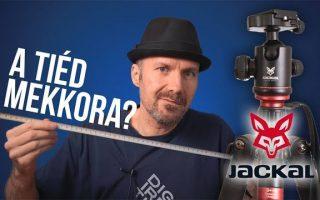 Jackal Daniel és Freedom állványok (teszt)