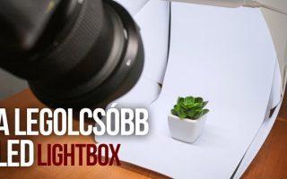 Mennyit ér a legolcsóbb LED lightbox?