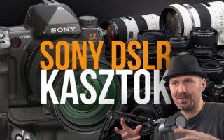 Sony kasztok- DSLR típusszámok és kategóriák