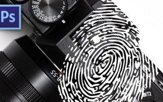 Porszemek, ujjlenyomat eltüntetése Photoshopban