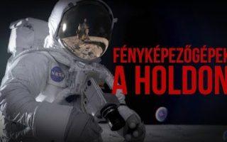 Első fényképezőgépek a Holdon