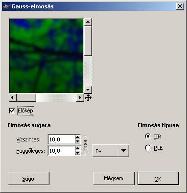 Színtelítettség II. GIMP-ben 4.