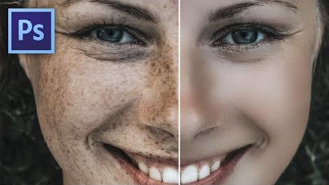 Hogyan tüntesd el a szeplőket Photoshopban