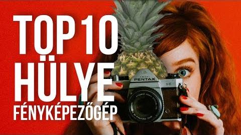 TOP10 leghülyébben kinéző fényképezőgép