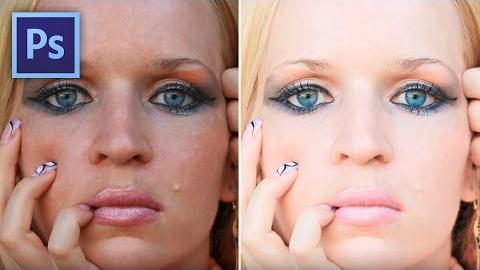 Hogyan hozz létre lágyabb arctónust Photoshopban